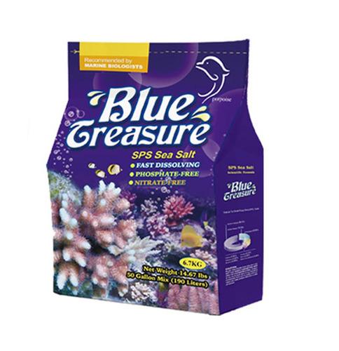 Imagem 1 de 2 de Blue Treasure Sps Sea Salt 6,7kg - Sal Marinho Sps Faz 200l