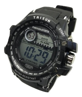 Reloj Deportivo Digital Sumergible Cronometro Super Oferta!! *** Full-time Mania *** Mercadolider Platinum Importadores!
