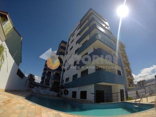 Apartamento Com 2 Dormitórios À Venda, 76 M² Por R$ 460.000 - Indaiá - Caraguatatuba/sp - Ap0358