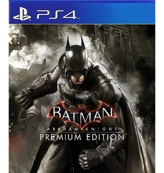 Batman: Arkham Knight Edição Premium Ps4 / 2° /promoção