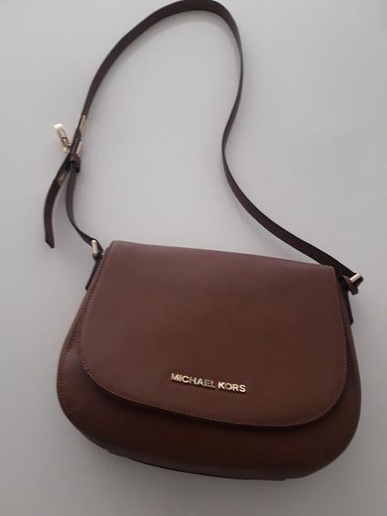 Cartera Michael Kors Hamilton Saffiano Leather Usada Impecab