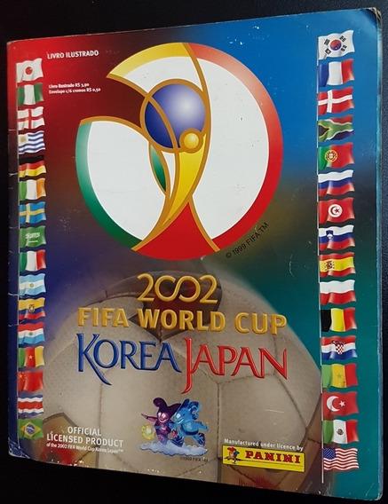Album De Figurinhas Copa Do Mundo 2002 Panini Completo