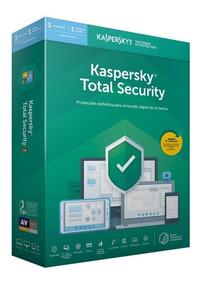Kaspersky Total Security 1 Pc 1 Año 2019 + Acronis