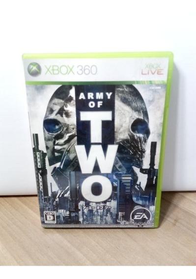 Army Of Two Japonês Xbox 360 Usado