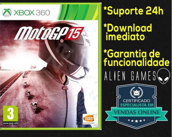 Moto Gp 15 Xbox 360 Midia Digital Original Promoção