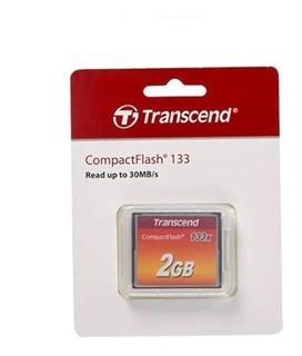 Tarjeta De Memoria Transcend Ts2gcf133 Compactflash 2gb 133x