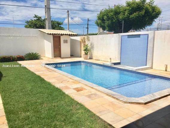 Casa Para Venda Em Natal, Capim Macio - Rua Énico Monteiro, 3 Dormitórios, 3 Suítes, 6 Banheiros, 8 Vagas - Cas0763