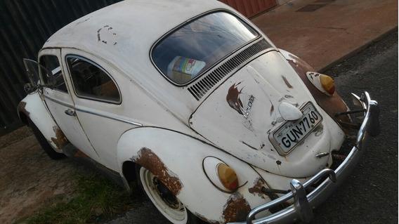 Volkswagen Fusca 1200cc Bem Original P/ Restauração Geral