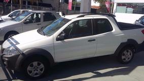 Fiat Strada Working 1.4 Doble Cabina Anticipo Y Cuotas