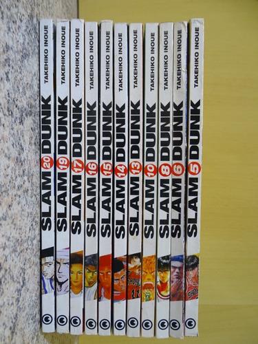 Mangá Slam Dunk Editora Conrad 11 Volumes