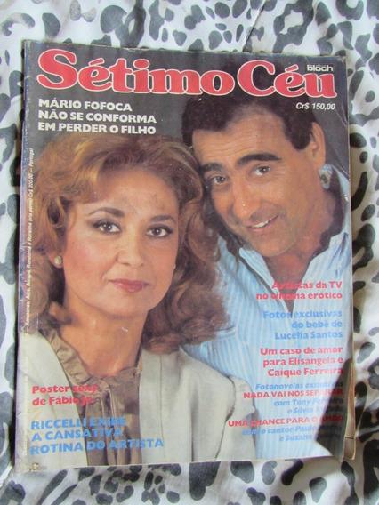Revista Sétimo Céu N°315 1982 Eva Wilma E Luiz Gustavo
