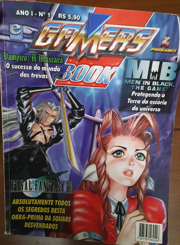 Gamers Book - Final Fantasy Vii