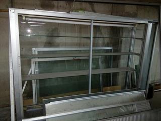 Vitrinas De Aluminio 210x170x40cm Y Puerta De 164x84cm