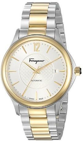 Relógio Suíço Salvatore Ferragamo Automático Prata/dourado