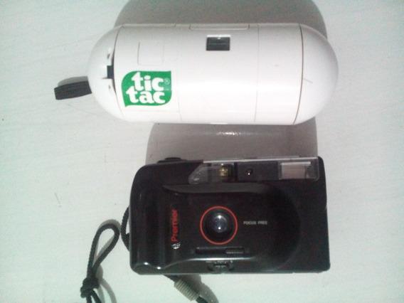 2 Máquinas Fotográficas Antiga Tic Tac Frete Grátis