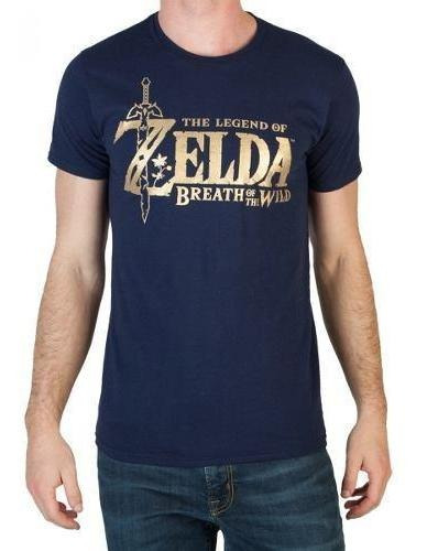 Playera Camiseta Niño Navy Colección The Legend Of Zelda