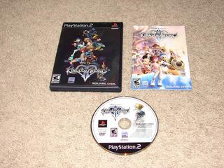 Kingdom Hearts 2 Blacklabel Caratula Holografica