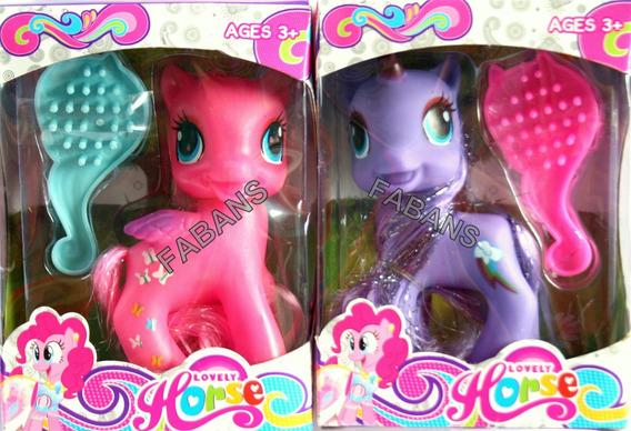 Juguete My Little Pony +peine Pinkie Twilight Equestria Niña