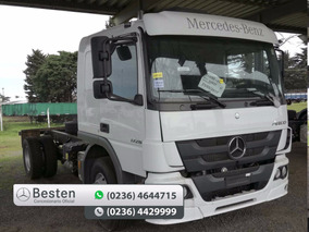 Mercedes Benz Atego 1726 A/42 4x4 Cabina Ext Financiación