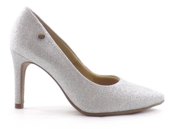 Zapato Stiletto Via Scarpa Dama Glitter Brillo Liquidacion