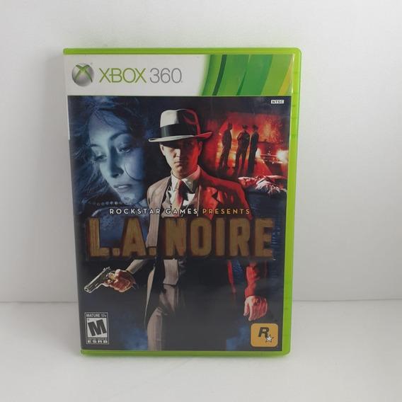 L.a.noire Jogo Para Xbox 360 Mídia Física