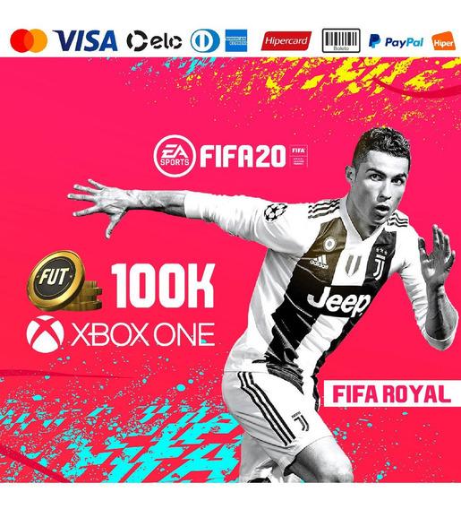 100k Fifa 20 Xbox One + 15k De Bônus