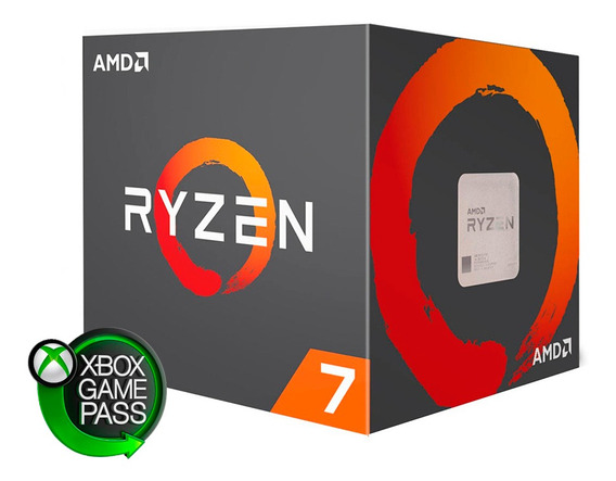 Micro Procesador Amd Ryzen 7 2700 Am4 3.2ghz 8 Nucleos