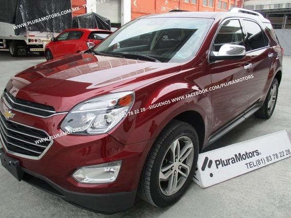 Chevrolet Equinox Premier 2017 Piel Quemacocos Gps $279,000
