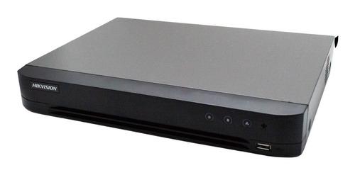 Dvr Grabadora 4 En 1 Hikvision 7208hqhi-k1