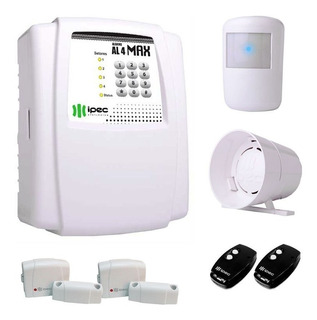 Alarme Residencial Comercial Com 3 Sensores Sem Fio