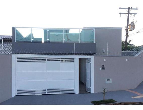 Casa Em Jardim Seminário, Campo Grande/ms De 85m² 3 Quartos À Venda Por R$ 350.000,00 - Ca529616
