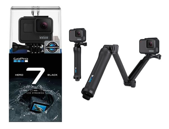 Gopro Hero 7 Black Original + Bastão 3 Way Original