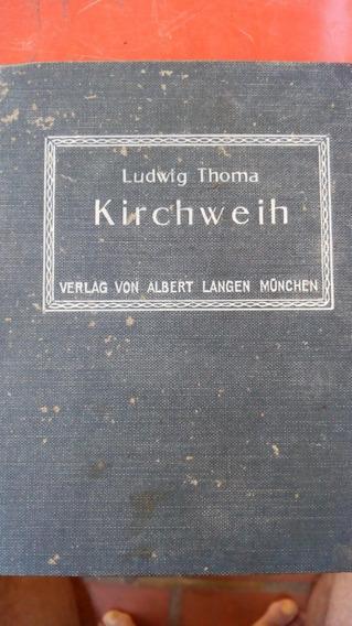 Antiguo Libro Aleman (1912) Albert Langen