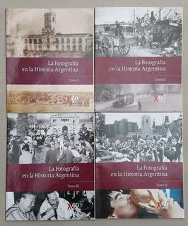 La Fotografia En La Historia Argentina Clarin 4 Tomos