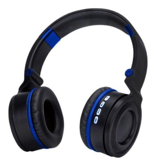 Headphone Bluetooth Hf-480bt Azul Exbom