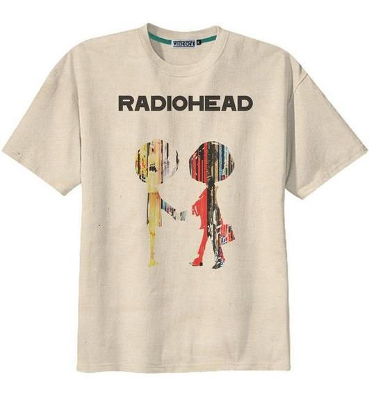 Envio Gratis Playera Radiohead Album Logo Increible Moda