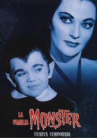 La Familia Monster Munsters Temporada 4 Cuatro Cuarta Dvd