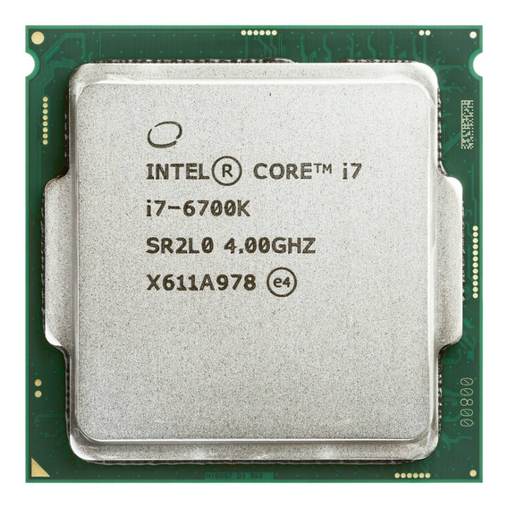 Procesador Intel Core I7-6700k 4.0ghz 8mb Socket Lga 1151