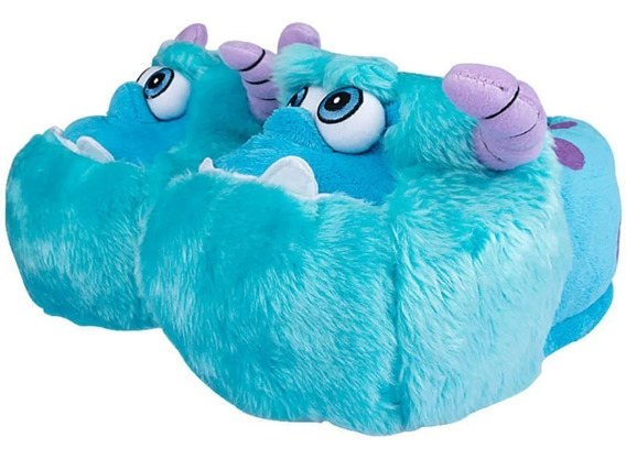 Pantufas 3d Disney Pixar Licenciadas E Originais - Sulley - Harry Potter - Minnie - Stitch - Chewbacca - Unicórnio