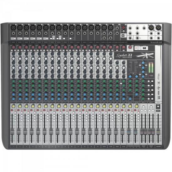 Mesa De Som 22 Canais Signature Soundcraft