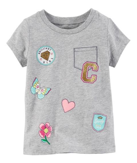 Carters Camiseta Menina 0 24 Meses Original Usa Eua Bebê