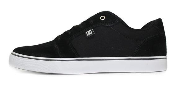 Tênis Skate Dc Shoes Anvil La Preto/branco Orginal Envio Já