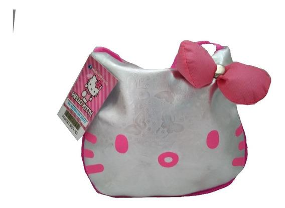 Bolsa Hello Kitty Estampada Moño 3d Varios Colores