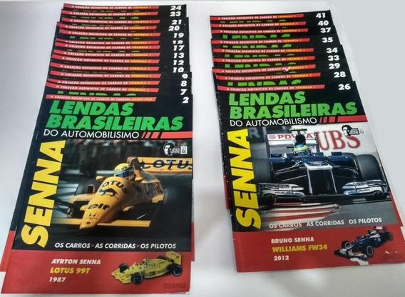 Fasciculos Lendas Brasileiras F1 Senna