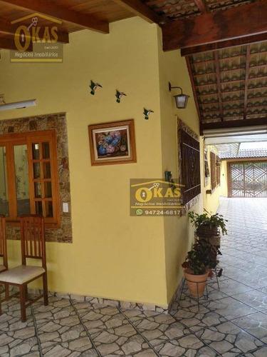 Imagem 1 de 30 de Casa Com 2 Dormitórios À Venda, 130 M² Por R$ 800.000,00 - Chácara Faggion - Suzano/sp - Ca0383