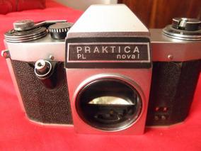Camera Praktica Pl Nova 1 - Anos 60 Única Do Mercado Livre