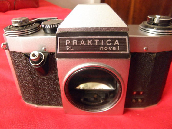 Camera Praktica Pl Nova 1 - Anos 60 Única Do Mercado Livre