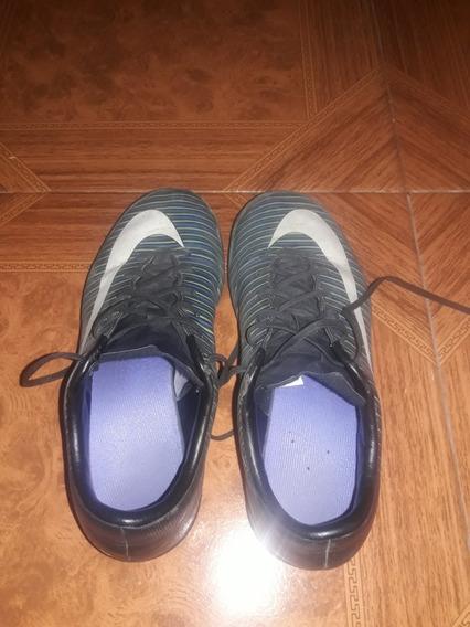 Botines Nike Papi Fútbol, En Muy Buen Estado , Número 36