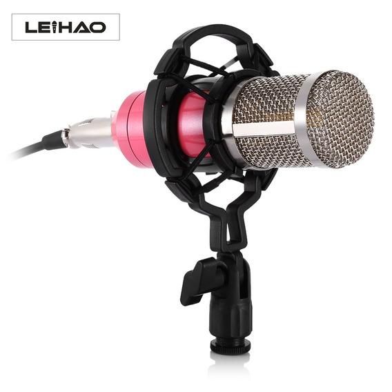 Leihao Bm - 800 Microfone Condensador Profissional Para Grav