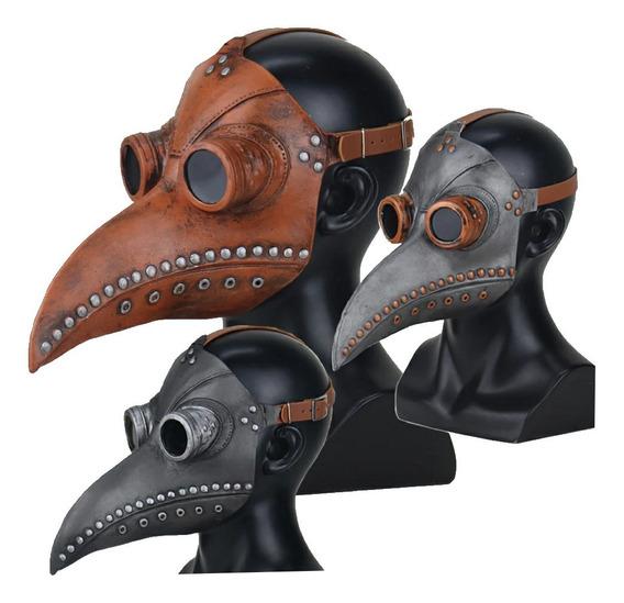 Máscara Médico Peste Negra Látex No N95 (si Protección)